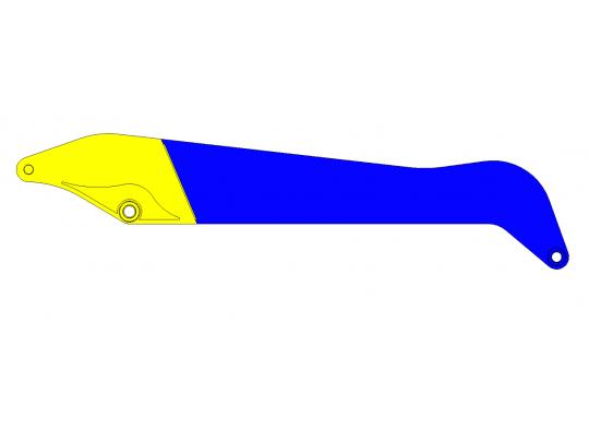 Modification balancier de terrassement en balancier de manutention