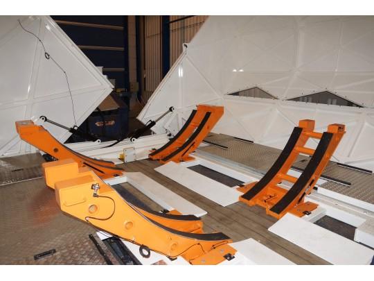 Transport de tronçon de fuselage d'avion
