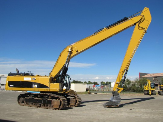 Long reach sur Caterpillar 390D
