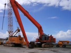 Long Reach sur Hitachi EX...