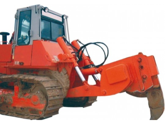 Ripper sur bulldozer